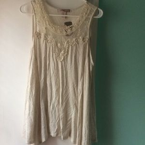 Flowy sleeveless top